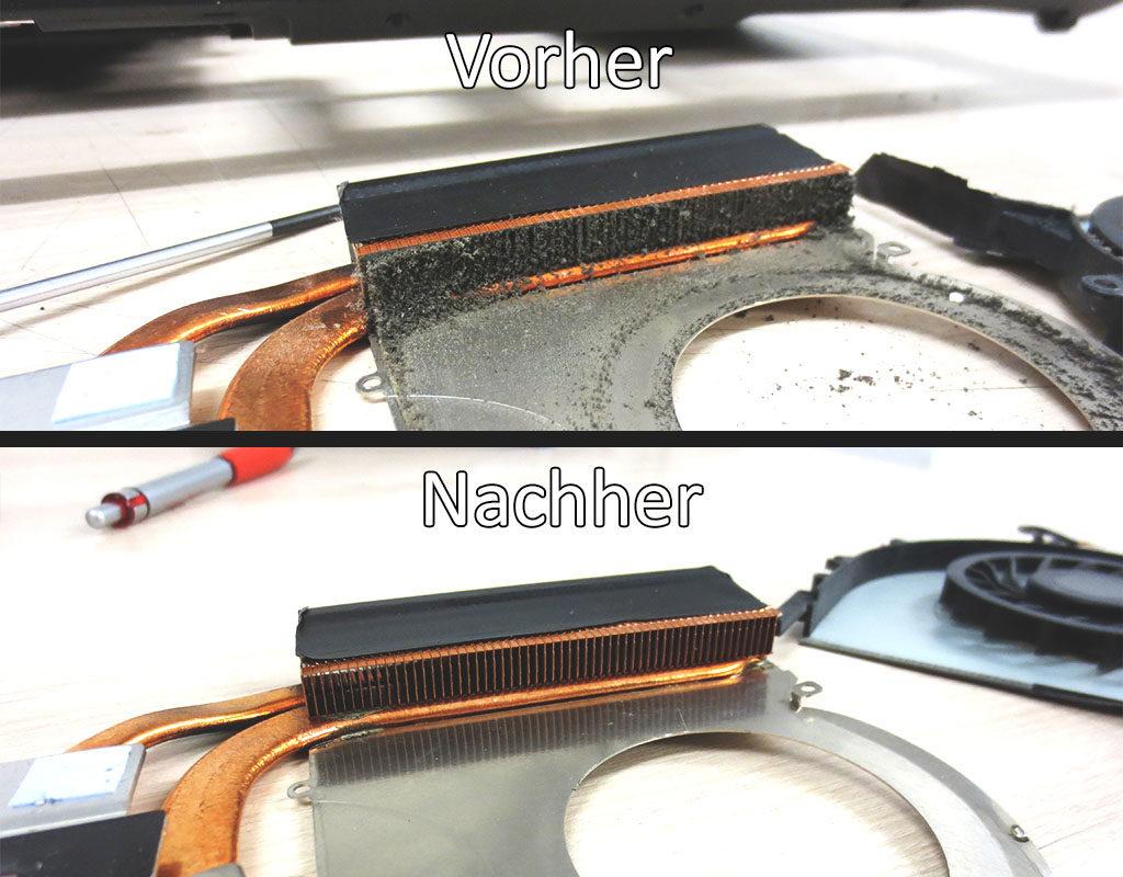 Prozessor-Lüfter Reinigen