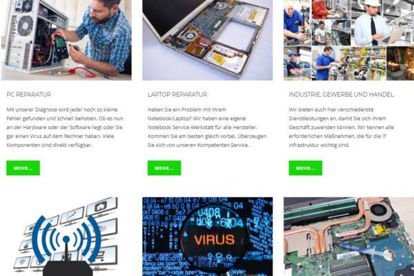 Neue Webseite Bauer PC Systeme