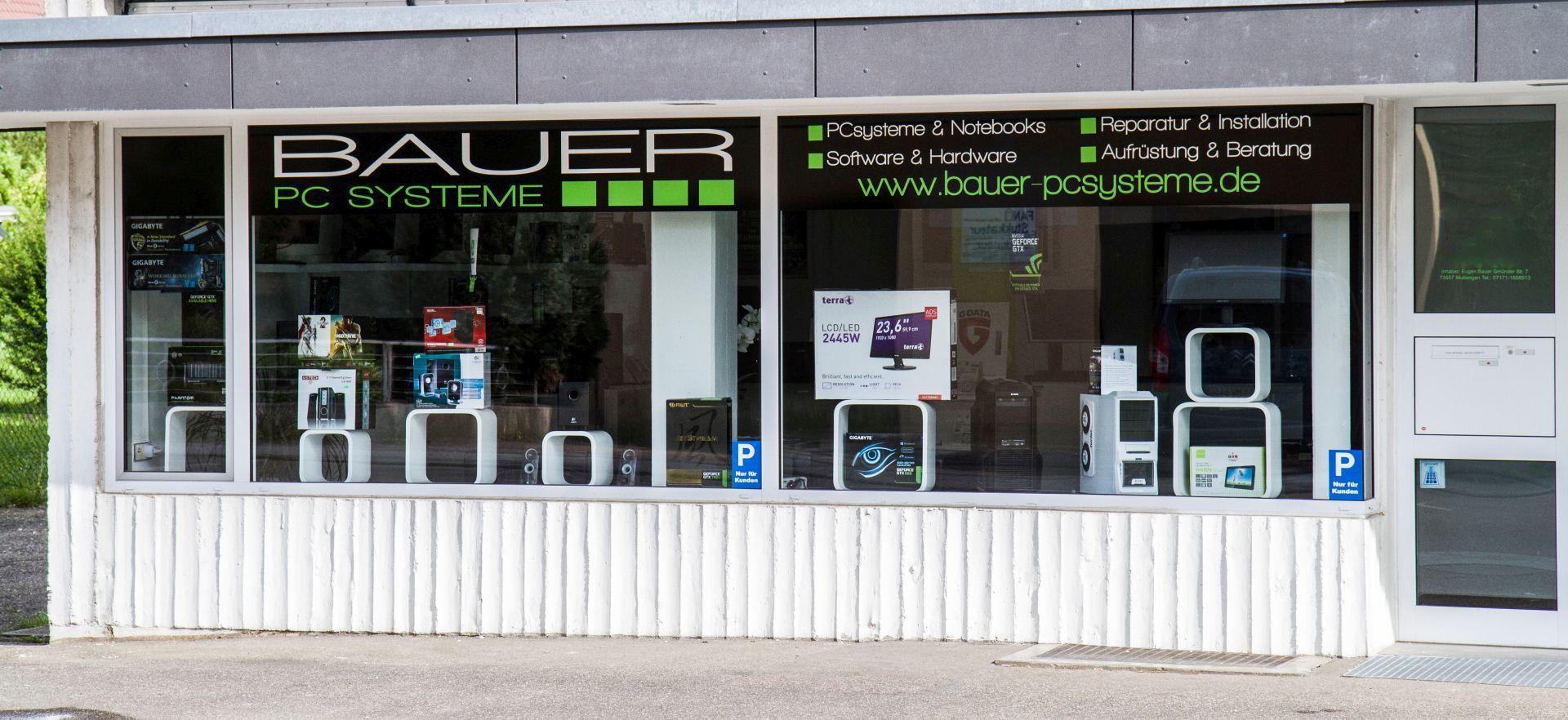 Bauer PC Systeme Ladengeschäft Computergeschäft