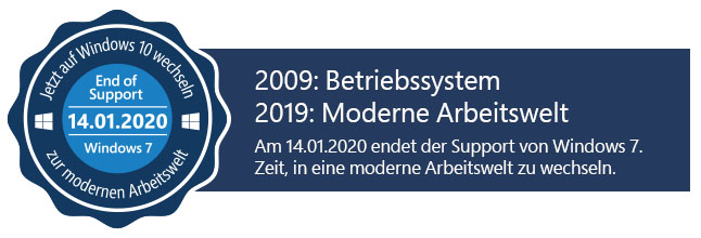 Windows 7 Support Ende